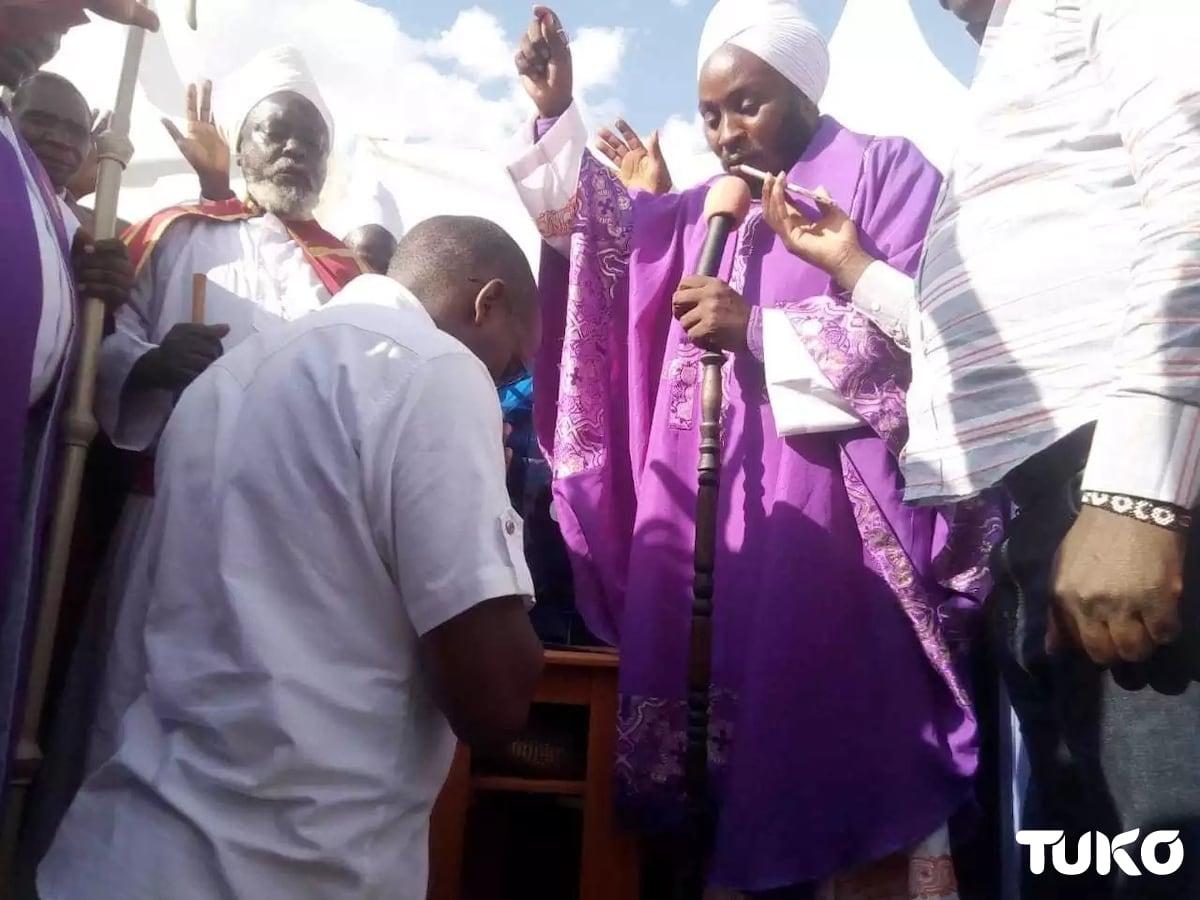 Kiambu MCA surprises pastor with vehicle as present