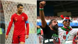 Iran fans deny Ronaldo sleep as they party all night outside Portugal team's hotel