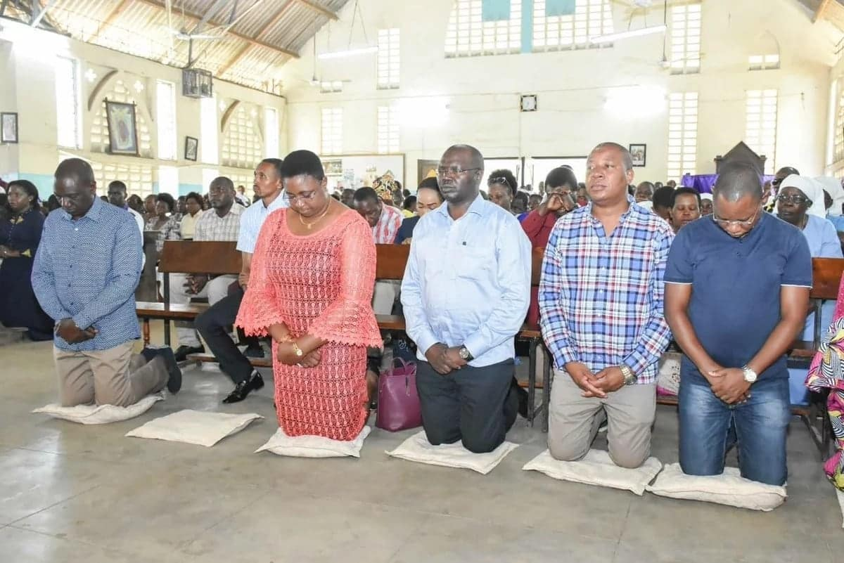 No, I cannot be a hustler in heaven like I have been here on earth - William Ruto