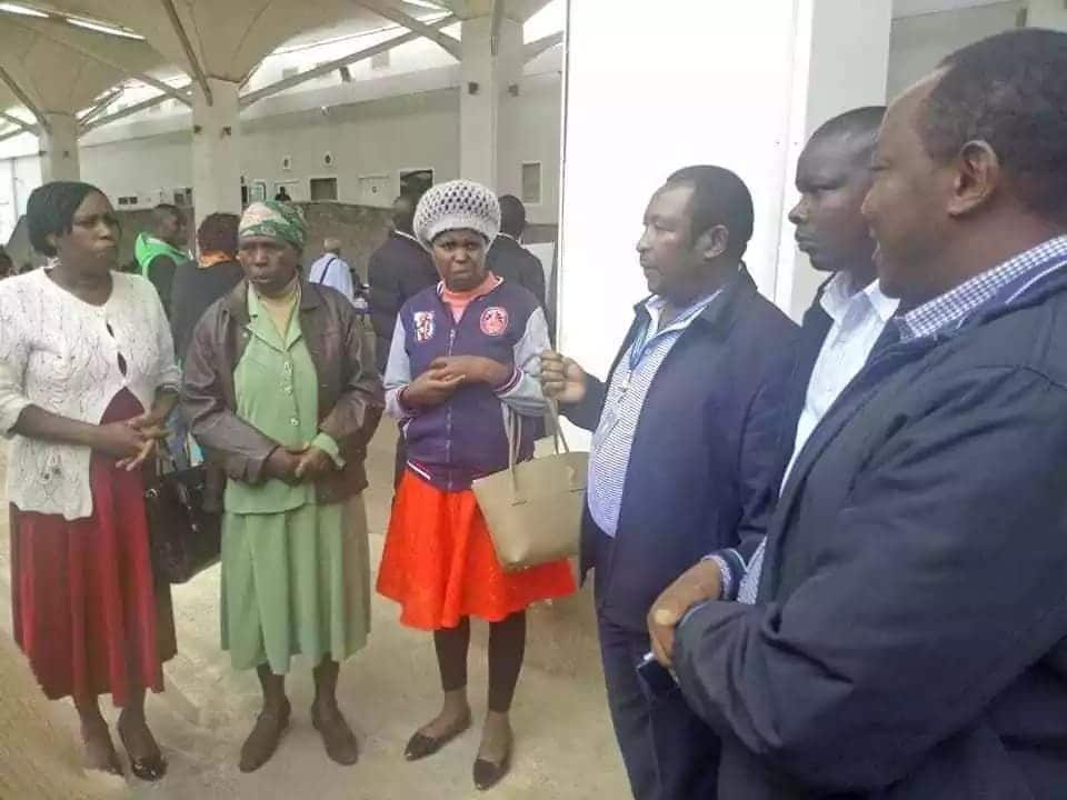 Joy as Kiambu woman stranded at Saudi Arabia airport over a week reunites with family after MP intervened