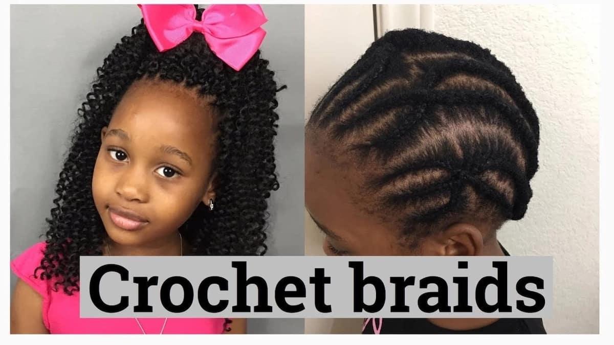 Crochet braids for kids