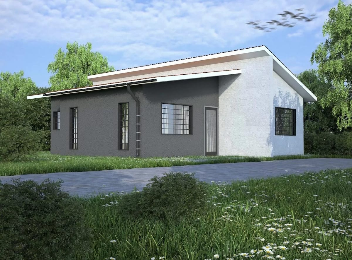 Maisonette 2 bedroom house plans in kenya