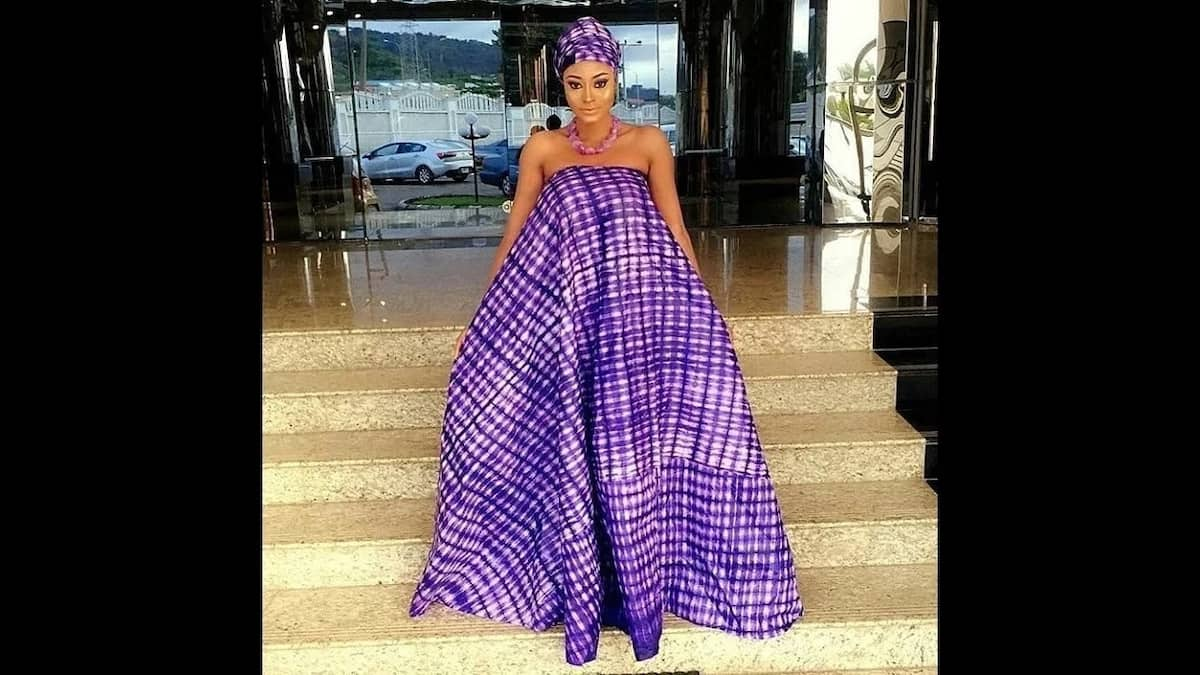 Trendy ankara styles for pregnant ladies 2018