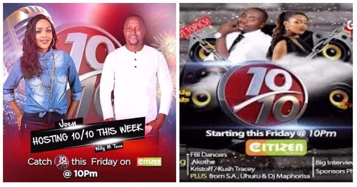 Kenya's moral police disappointed obscenities aired on Citizen TVs 10/10 late night show