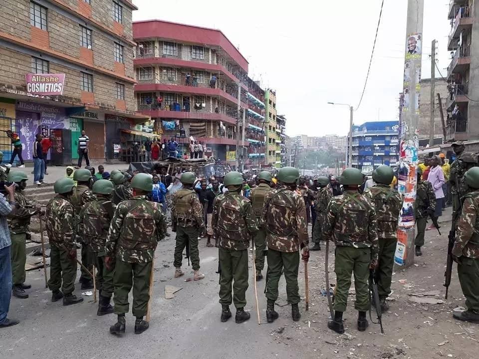 The number of Kenyans dead
