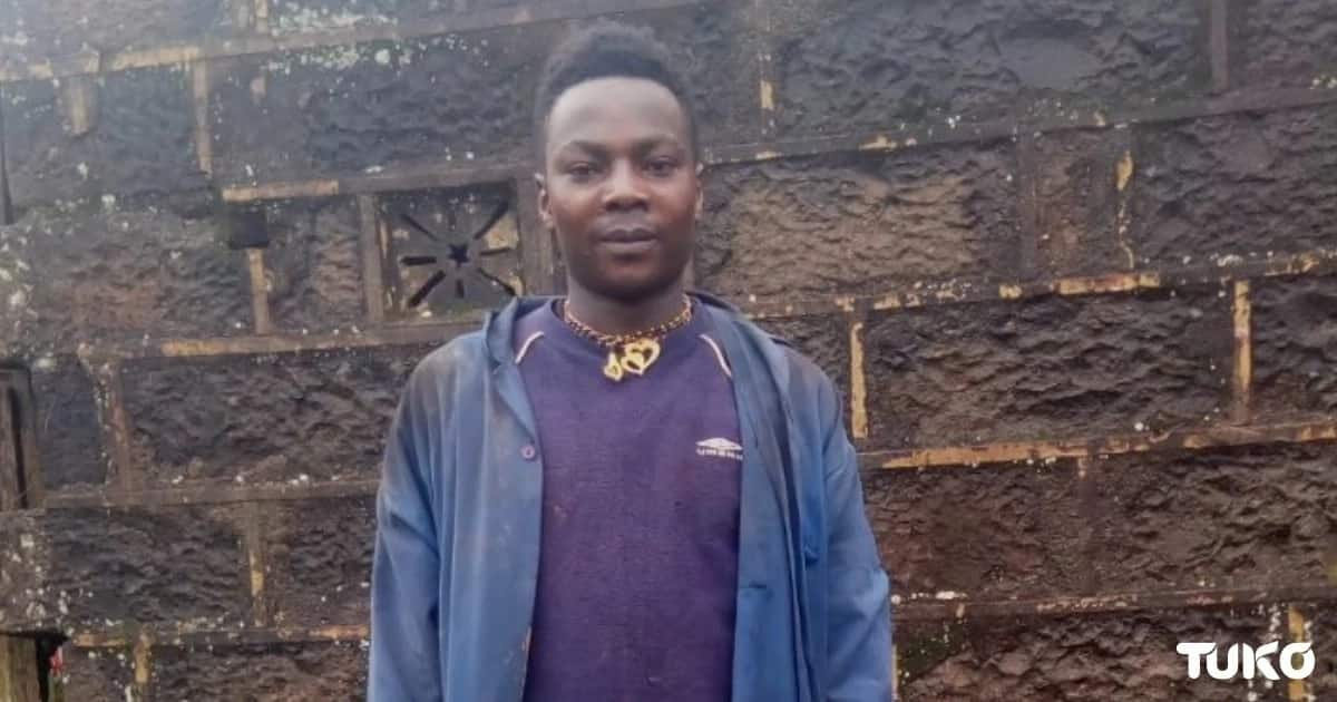 Meet Murang'a man whose photo chasing two elephants has gone viral, says he wanted to touch them