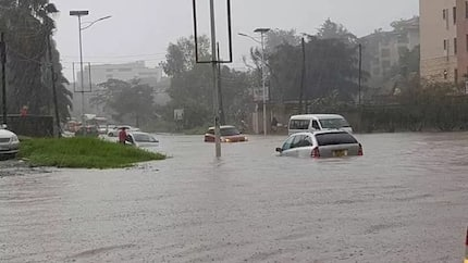 Residents of Western, Central and Rift Valley warned of heavy rainfall