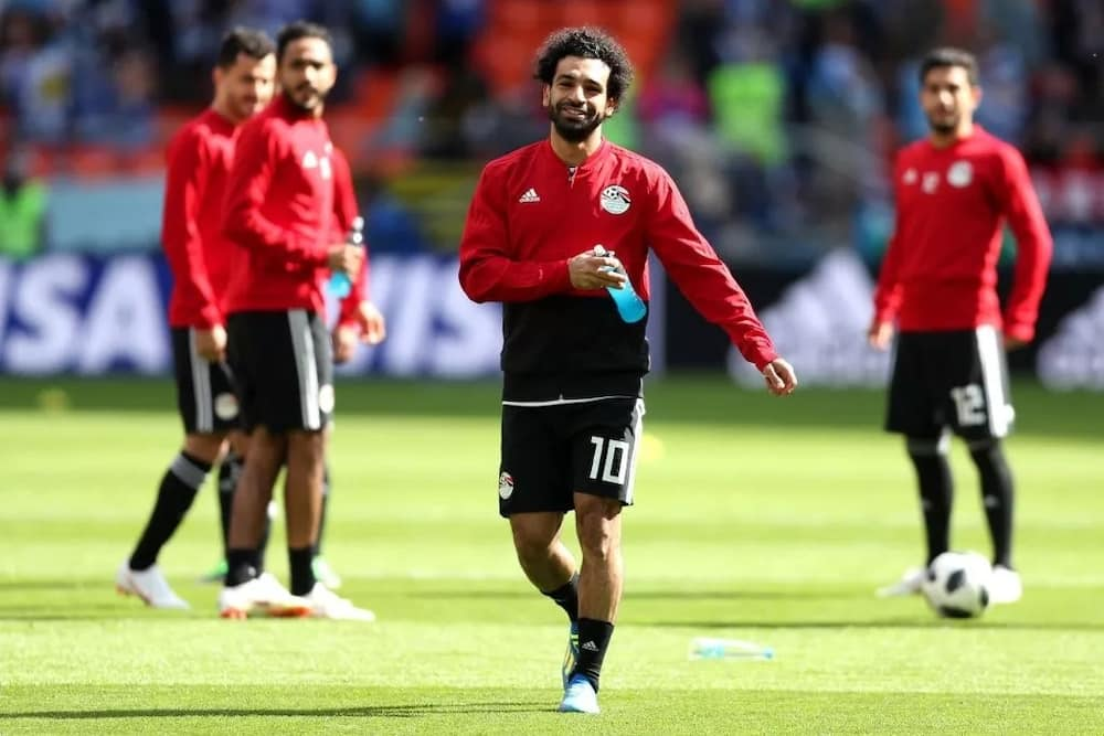 Mohamed Salah confirms his fitness to face Russia