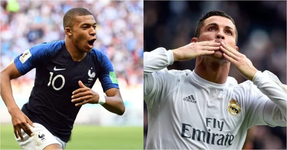 Picha za kusisimua zake Mbappe akimtamani Ronaldo akiwa mdogo, hatimaye wacheza pamoja dimbani