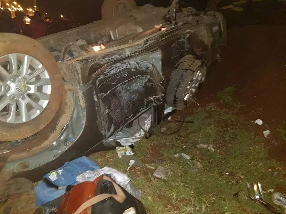 Mombasa Deputy governor survives terrible road accident