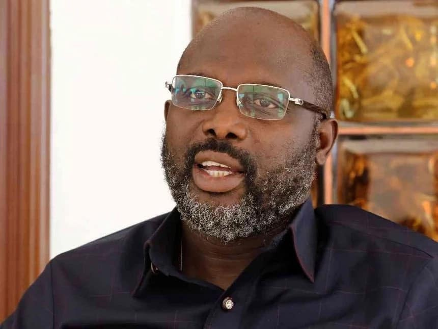 Arsene Wenger invited to George Weah's inauguration as president of Liberia