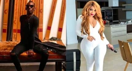 16 stylish photos of Vera Sidika's bisexual male best friend who does not leave her side