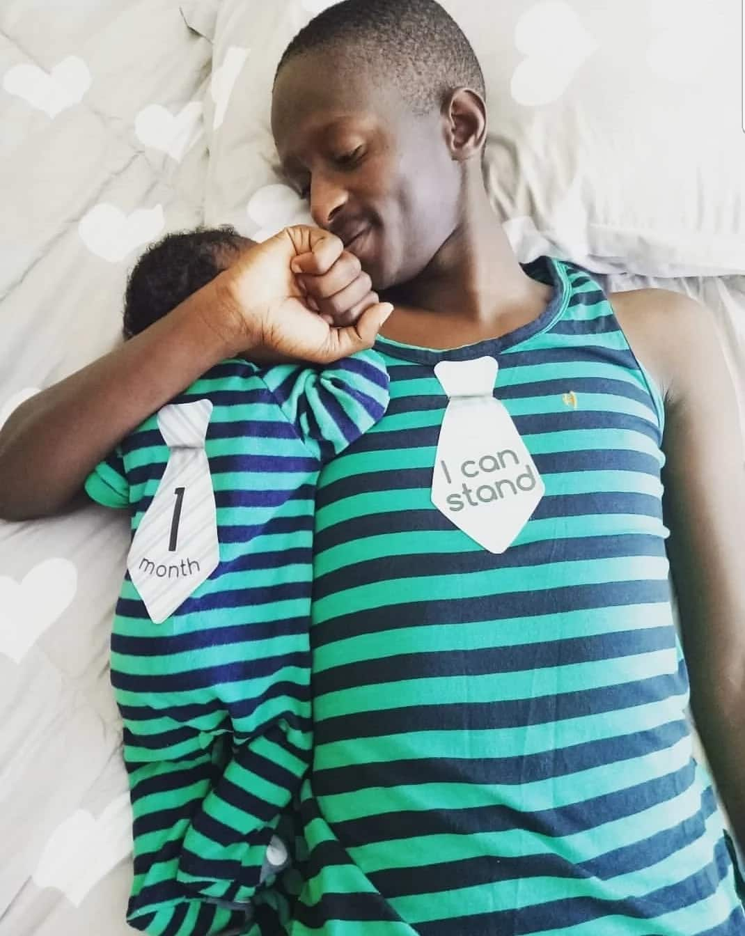 Comedian Njugush and wife finally unveil adorable photo of newborn son