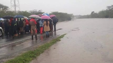 Thousands at risk as Athi River water levels rise beyond normal