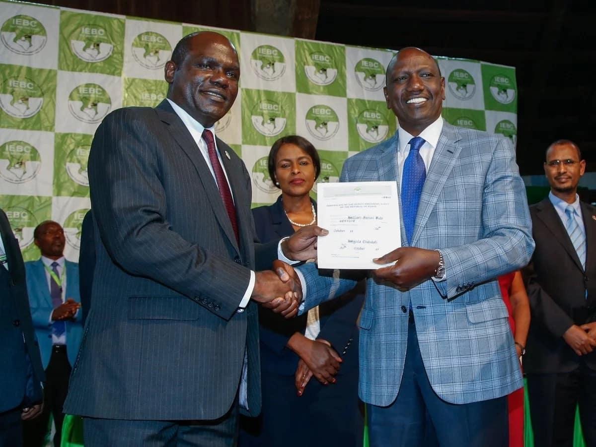 Sherehe na maandamano zashuhudiwa baada ya Uhuru kutangazwa mshindi wa uchaguzi