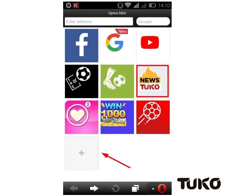 Access your favourite news site TUKO.co.ke instantly in 3 simple steps
