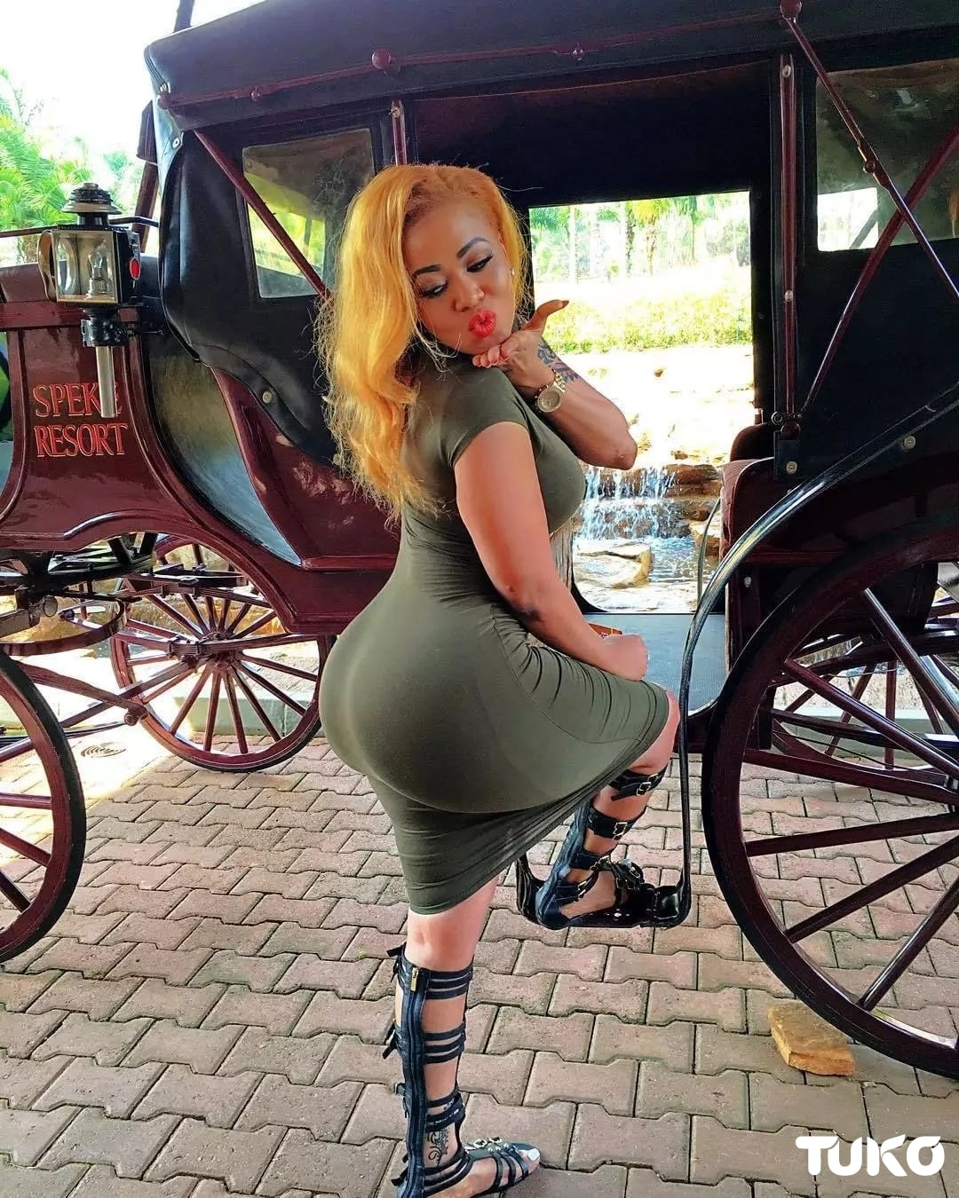 Vera Sidika shares innocent photo of her younger self before meeting Otile Brown