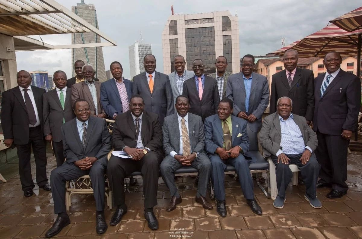 Raila holds unity talks with ex-Nyanza MPs after deal with Uhuru