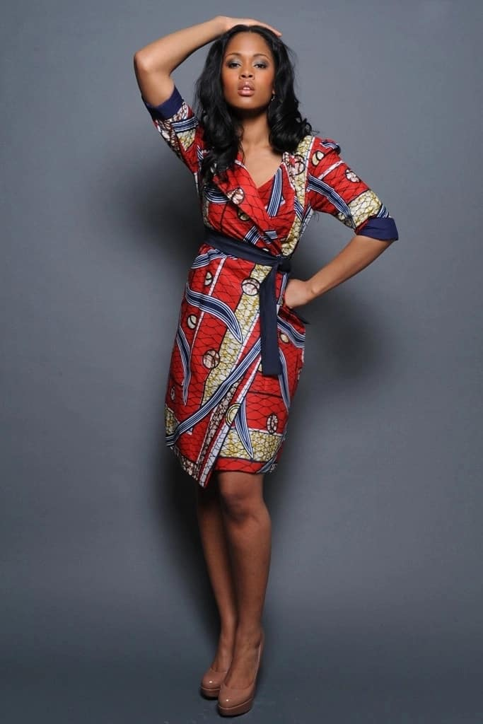 Kitenge wrap designs for breastfeeding mothers and pregnant women