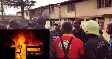 Strange night fire at Chuka Boys razes down dormitory