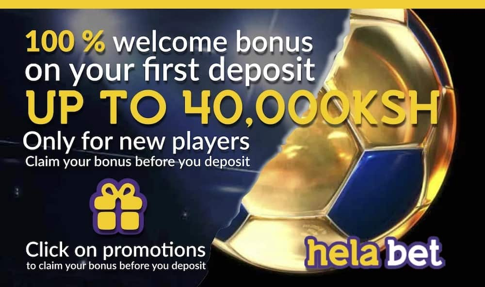 Helabet Kenya, helabet first deposit bonus