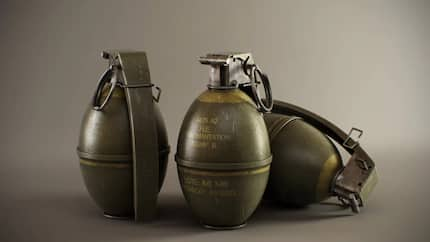 Two brothers left with serious injuries after grenade explodes inside their hut
