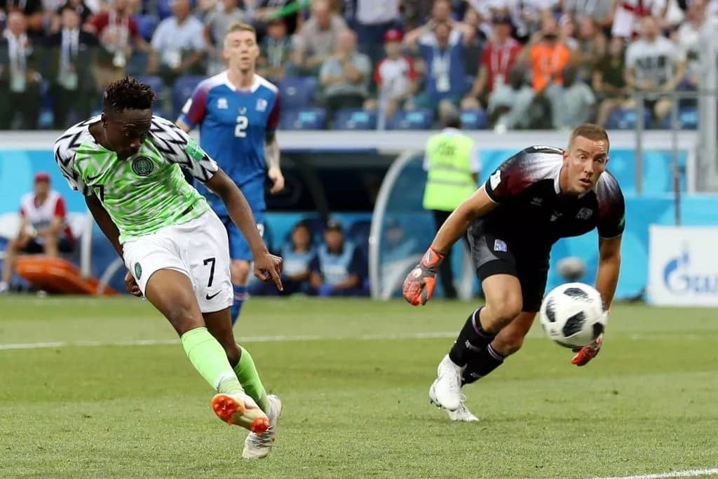 Ahmed Musa stylishly bangs in two goals as Super Eagles outclass Iceland in Russia