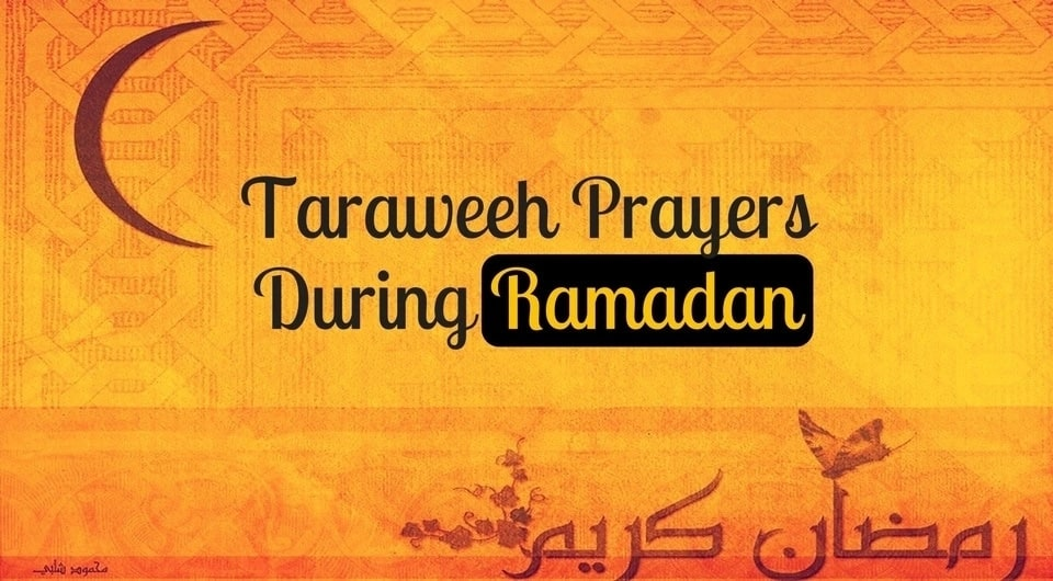 Tarawih during Ramadan