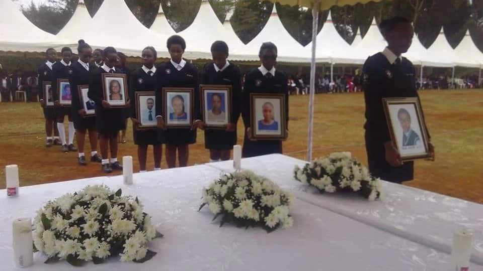 Uhuru, Ruto na Sonko watoa KSh 12 Milioni kwa shule ya Moi Girls kutokana na mkasa wa moto