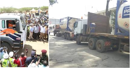 First consignment of crude oil finally arrives in Mombasa from Turkana