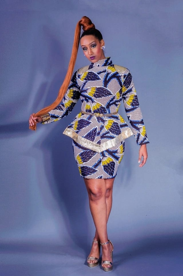 Latest Kitenge Designs for Short Dresses 2018