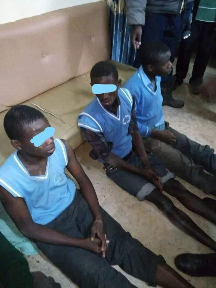 5 high school boys arrested after being found in girls' school dormitory