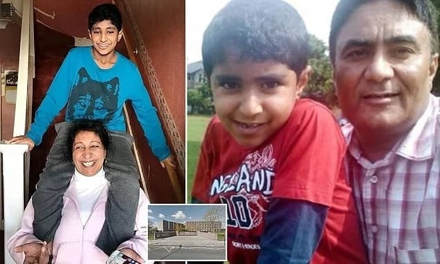 Mother, whose allergic son, 13, died while in class, demands answers from school bosses