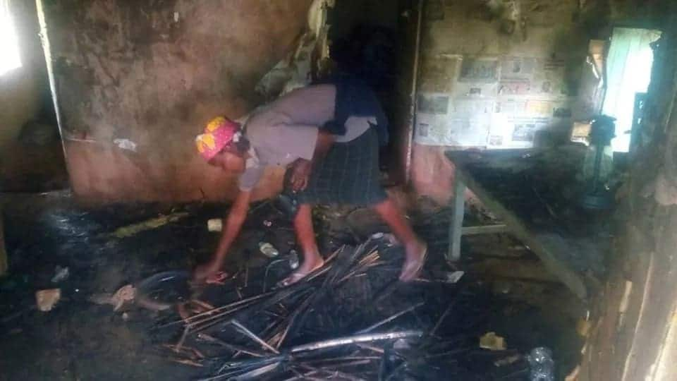 Kisii students torch villager's house for bewitching student who died