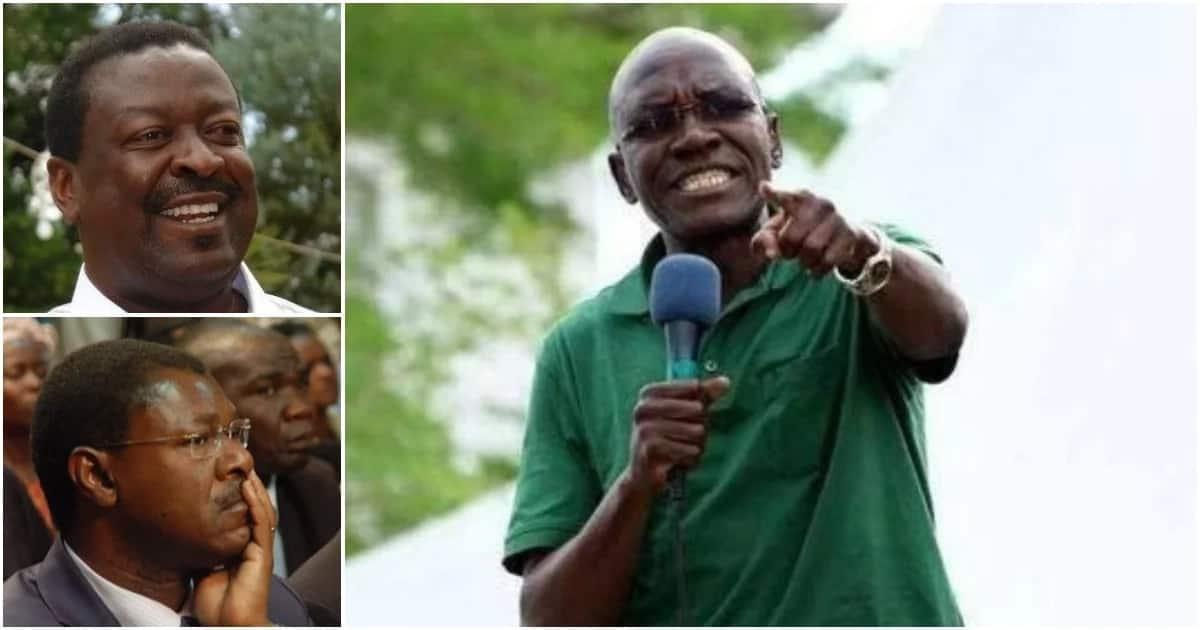 Kenya shall only rest when Mudavadi or Wetangula is elected president - Bonny Khalwale