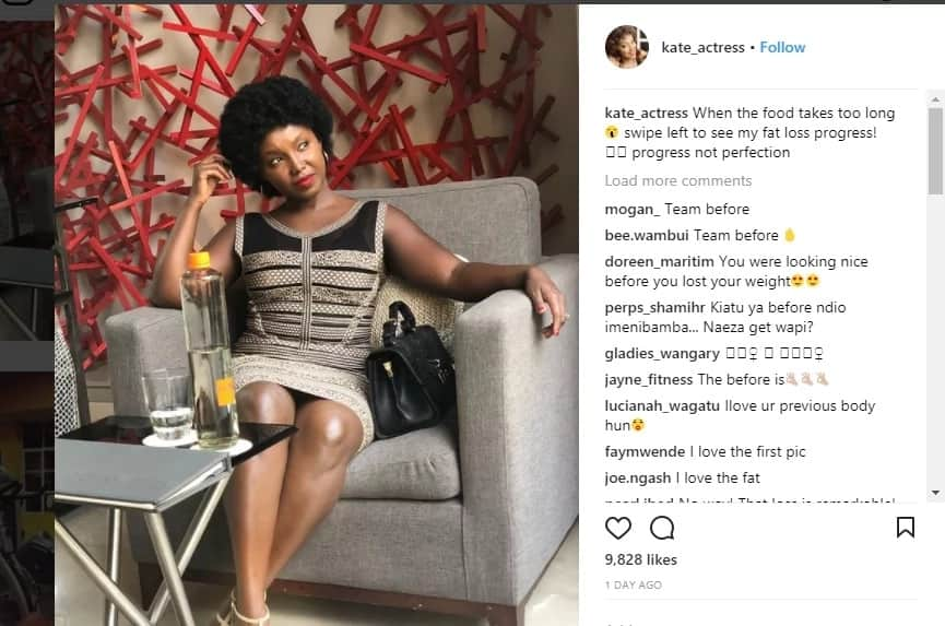 Former mother in law actress Celina insists she's still thick as fans beg her not to hit the gym