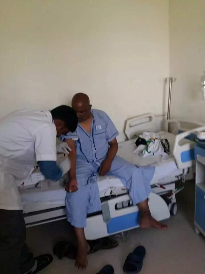 Ailing Harambee Stars legend Rishadi Shedu finally gets treatment in India