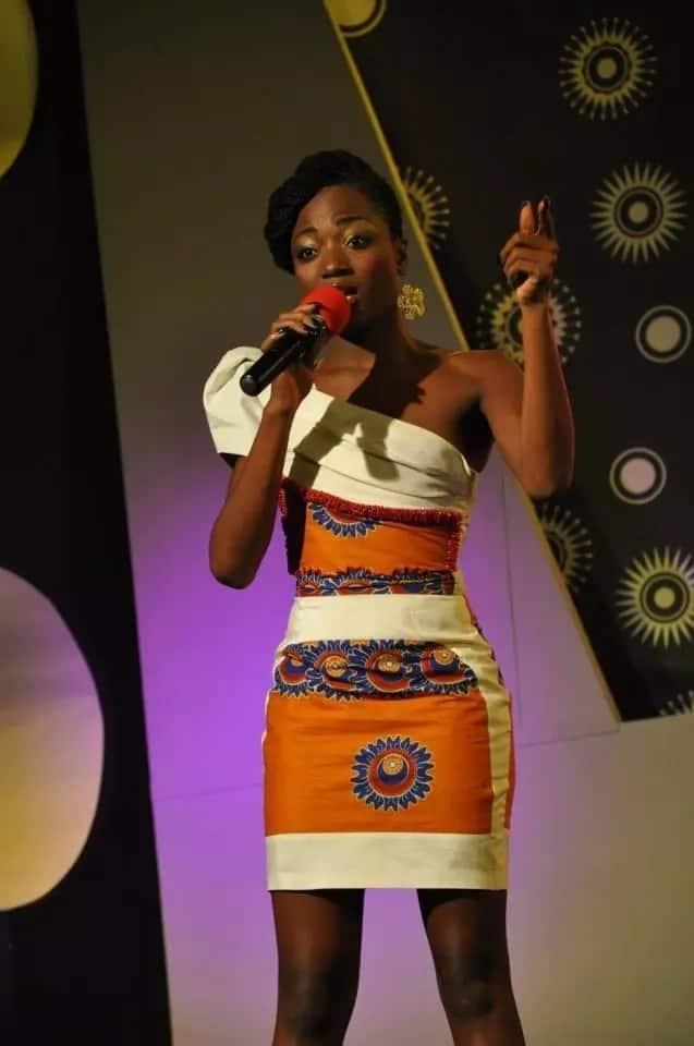 Fancy Kitenge designs for slim ladies