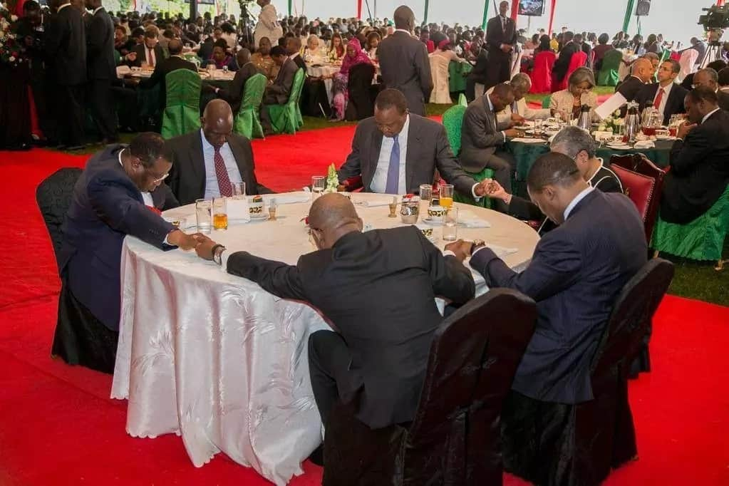 Kenyans express anger over The National Prayer Breakfast, terms it feast for the corrupt