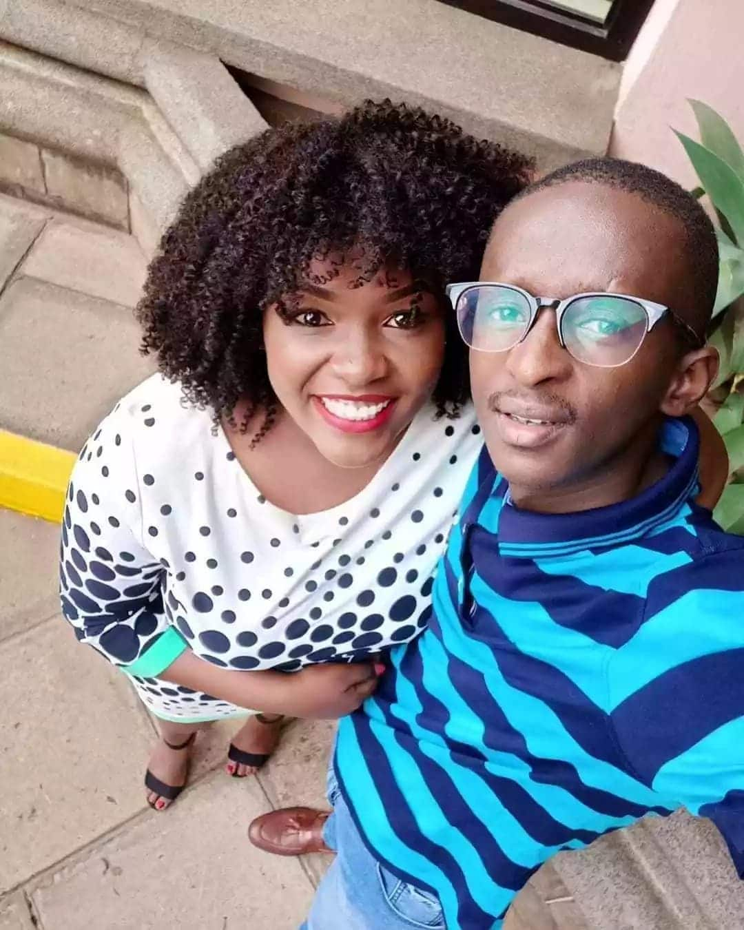 Comedian Njugush reveals how his wife snatched him from her friend