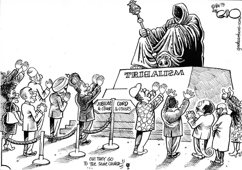 Tribalism and nepotism in Kenya
