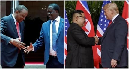 Uhuru and Raila's historic handshake goes international as other world leaders embrace it