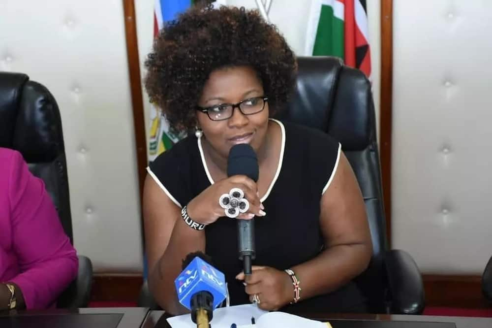 Former Nairobi Woman Rep Rachael Shebesh campaigns for ODM candidate in Kibra by-election