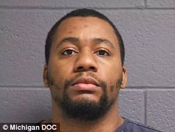 Curlin allegedly wrote anti-black graffiti. Photo: Michigan DOC