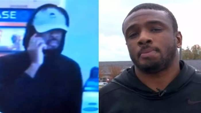 Hilarious! Idiot bank robbery suspect gets caught after stopping for TV interview following heist