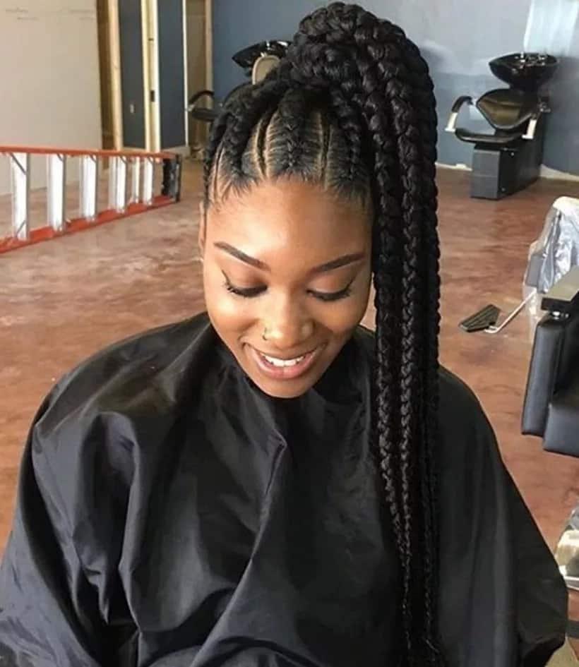 Latest African Hairstyles Braids 2020 Updated Tuko Co Ke