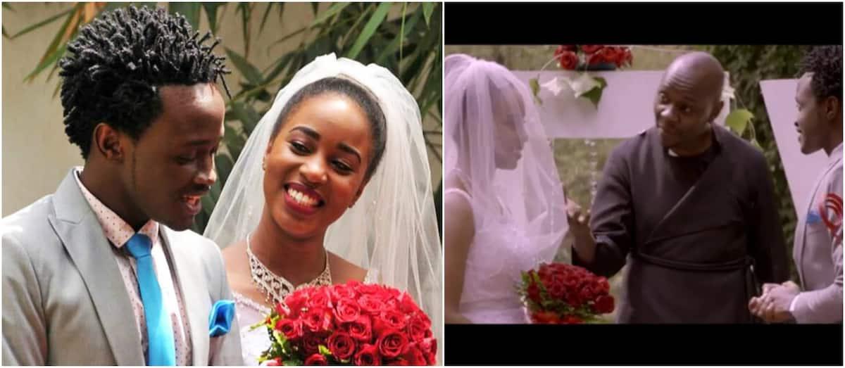 Who is Bahati girlfriend?