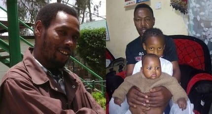 Witty Tahidi High actor Omosh introduces his adorable children for the first time ever