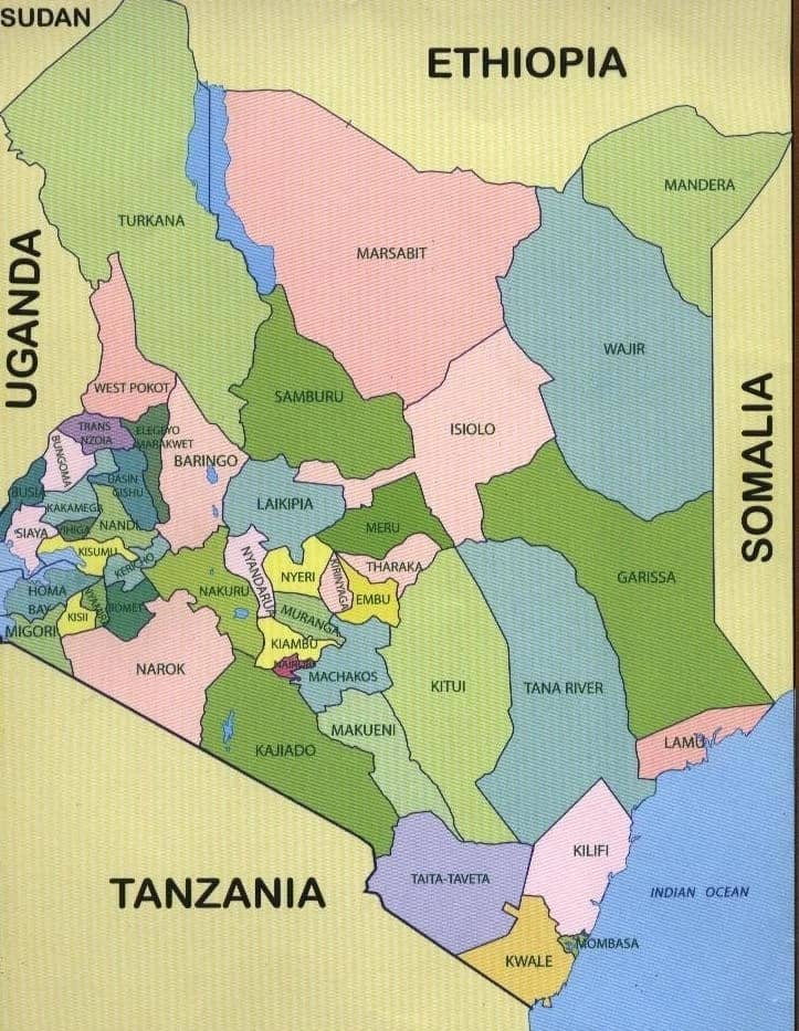Kenya Counties: Know all the 47 Counties and their Governors