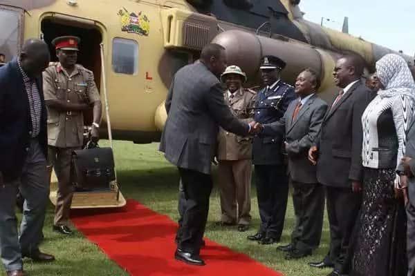 "Image result for Uhuru in Sagana lodge"""